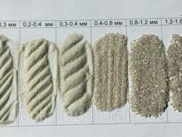 Кварцевый песок, фасовка в мешках 50 кг