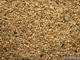 Кварцевый песок сухой фракционный в мешках