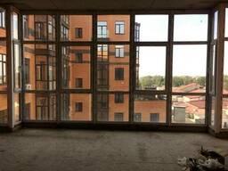 Квартира в ЖК Paladio планировка студия с панорамными окнами