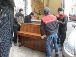 Квартиры. Мебель. Пианино. Есть грузчики.