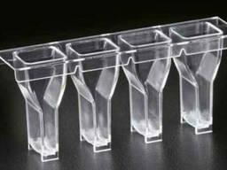 Кюветы реакционные и шарики для фиксации времени образования сгустка для коагулометров. ..