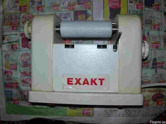 Лабораторная краскотерка трехвальцовая (пастотерка) Exakt-35