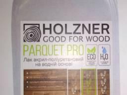 Лак акрил-поліуретановий на водній основі Holzner Parquet PRO 5л