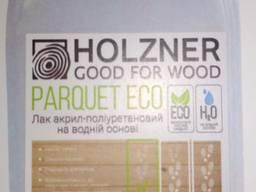 Лак акрил -поліуретановий на водній основі Holzner Parquet ECO 5л