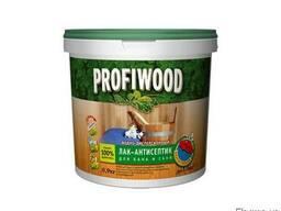 Лак антисептик с воском для бань и саун Profiwood 0,9кг