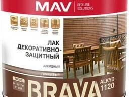 Лак BRAVA ALKYD 1120 декоративно-защитный (ПФ-1120)
