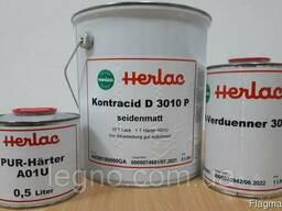 Лак для паркета Контрацид Д 3010 Р Herlac Германия (6,5л) шм