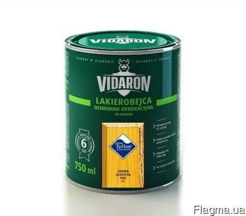 Лак Vidaron L02 Золотистая сосна 0.75л
