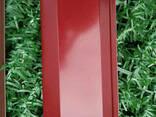 Ламели для забора Жалюзи 112мм цвет 7024 графитовый. .. - фото 4
