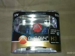 Лампа автомобильная Н3 12V 55WДиалуч Night light xenon vision комплект