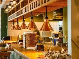 Лампы подогрева блюд для пиццерии и кафе