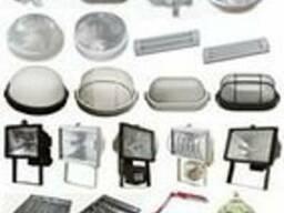 Лампы, прожектора, светильники, комплектующие