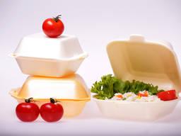 Ланч бокс доставка еды одноразовая посуда еда на вынос