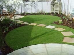 Искусственная трава для детских площадок, интерьера, декора