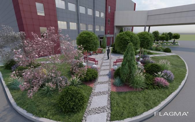 Ландшафтное проектирование, 3D визуализация, проекты домов и других сооружений