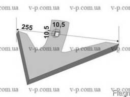 Лапа культиватора Lemken 255 мм,s-6 мм.