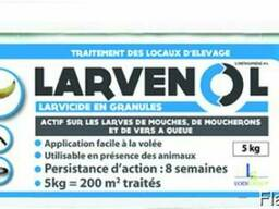Ларвенол ( Larvenol )-избавьтесь от мух на 8 недель!