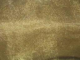 Латунная фильтровальная сетка тканная 4 мм
