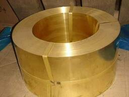 Латунная лента 0, 75 х45 мм Л90