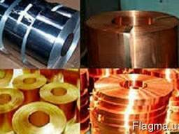 Латунная лента, фольга D -1х130 ;2х20мм(Л90М ;Л63М)