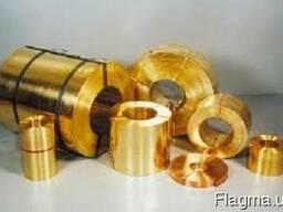 Латунная лента, фольга D - 0, 4х20 ;0, 7х38 мм(Л63; Л90М)