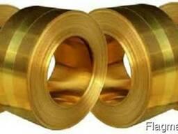 Латунная лента, фольга D - 0,7х40,7; 0,75х300 мм(Л90 ;Л63М)