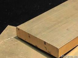 Латунная плита ЛС59 40х600х1500 порезка доставка ассортимент