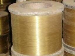 Латунная (медно-цинковая) проволока полутомпак 0,1мм - 8мм.