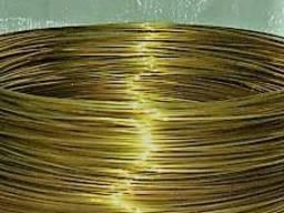 Латунная проволока Л63 мяг\тв ф 0. 4, 0. 5, 0. 6, 0. 8, 1 мм