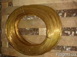 Проволока латунная марки Л63 диаметр 2, 5 мм