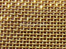 Сетка тканая латунная ГОСТ 6613-86 яч. 0, 4*0, 4-0, 2 мм