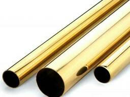 Латунная труба ф 110х10 мм Л63 ГОСТ цена купить доставка. ..