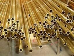 Трубы медные латунные тонкостенные от 2 мм до 22 мм