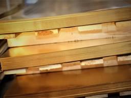 Латунный лист 0, 5 х 600 х 1500 мм Л63 твердый купить