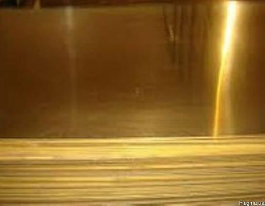 Латунный лист, латунная полоса, латунная плита