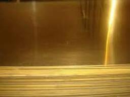 Латунный лист, латунная полоса, латунная плита - фото 1