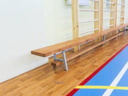 Лавочка гимнастическая, гимнастическое оборудование для школ