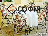 Лавочки, банкетки, садовая мебель, ваза цветник - фото 1