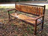 Лавочки скамейки садово-парковые - фото 3