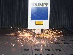 Лазерная резка металла на станке TruLaser 3030 краткие сроки