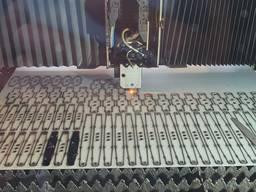 Лазерная резка листового металла