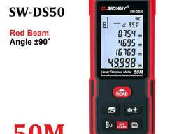 Лазерный дальномер Sndway SW-DS50 оригинал в коробке, лазерная рулетка, измеритель. ..