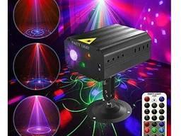Лазерный проектор для вечеринки (36 шаблонов) пульт