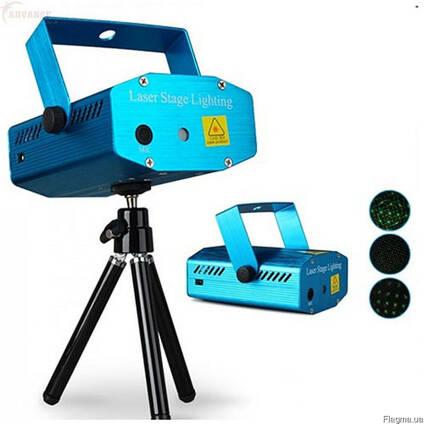 Лазерный проектор Mini Laser Stage Lighting YX-039