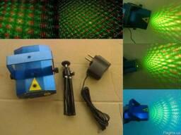 Лазерный проектор Mini Laser Stage Lighting YX-039 - фото 3