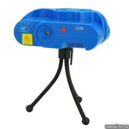 Лазерный проектор со звуковой активацией S10RG (Акция)