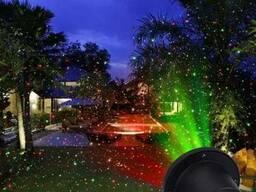 Лазерный проектор Star Shower Laser Light - подсветка дома