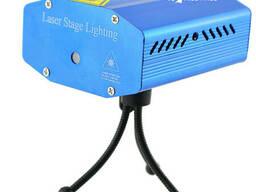 Лазерный проектор, стробоскоп, светомузыка Mela RD-7195 c. ..