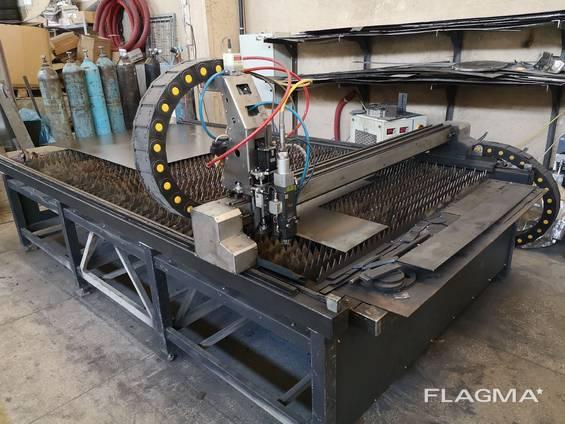 Лазерный станок ЧПУ для резки металла 1КВт, Лазер