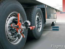 Лазерный стенд развал-схождения RED-LINE грузовой